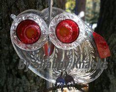 Whimsical Repurposed Owl