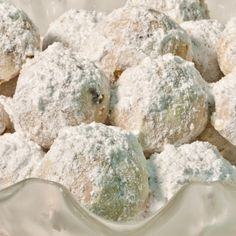 Russian tea cakes, perfect cold weather comfort food! Recipe...
