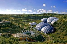 the Eden project design in China will be distinct from the original, which houses a massive interior rainforest, it will surely draw inspiration from the original concept of land transformation and regeneration.