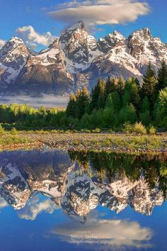 Grand Tetons - Wyoming. | #americathebeautiful #myfreedommyfamily