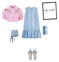 """""""Oh!"""" by francy78 on Polyvore featuring moda, Ermanno Scervino, Miu Miu, Moschino e Steve Madden"""