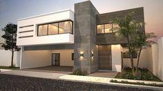 13 fachadas en 3D que te inspirarán a diseñar la casa de tus sueños (De GracielaGomezOrefebre)