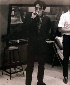 This is the ORIGINAL photo of Elvis at Western Recorders in Burbank, CA on June 23,1968.