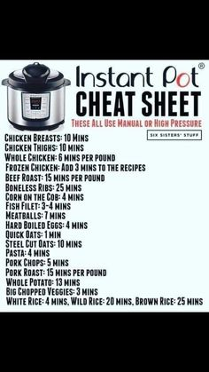 instant pot recipes easy How to Convert Recipes into an Instant Pot Recipes is the most common question I get! I love using the instant pot, but sometimes it can be hard to know what will work and what won't. Power Pressure Cooker, Instant Pot Pressure Cooker, Instant Cooker, Pressure Pot, Pressure Cooker Times, How To Convert A Recipe, Instant Pot Dinner Recipes, Instant Recipes, Hot Pot Recipes