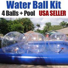Walk on water! amaz product, balls, surrealist stuff, pool stuff, fun stuff, walk water, outdoor stuff, adult fun, pools