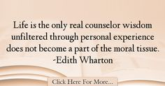 Edith Wharton Quotes About Experience - 17660