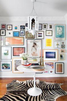 Make your hallway into a destination. See how one interior designer decks her halls year-round. http://www.architecturaldigest.com/gallery/how-to-make-your-hallway-into-destination