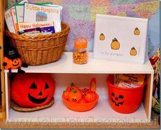 Pumpkin Theme Set Up for Preschool