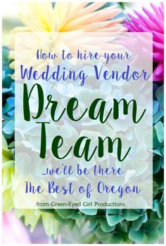 Hiring your Wedding Professionals for your Big Day can seem overwhelming at first. It is, in fact a big deal. You are hand picking the team who will play out your…