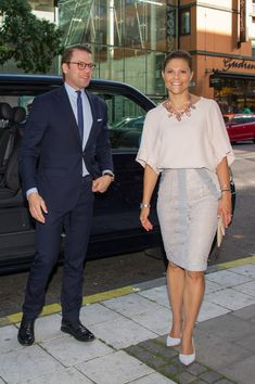 Swedish Royals Attend 'Never Mind the Gap' Seminar in Stockholm