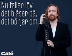 Lars Winnerbäck höstkänsla