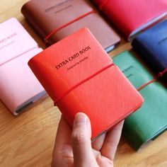 Colorful Mini Card Book v2.  What a great way to organize all your Credit cards, gift cards, business cards!