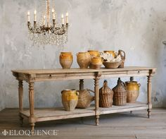 Avignon Drapery Table by Eloquence (LA and Highpoint)