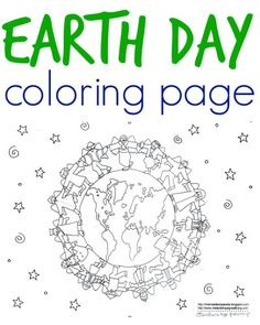 Free Earth Day coloring page to print by Melanie Hope Greenberg is perfect for Earth Day. It features a globe encircled by a group of multicultural children holding hands. Earth Day Coloring Pages, Coloring Pages To Print, Colouring Pages, Coloring Pages For Kids, Earth Day Activities, Activities For Kids, Sistema Solar, Fun Learning, Teaching Kids
