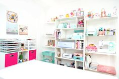 Check out design team member Fanni Mayo's craft room!