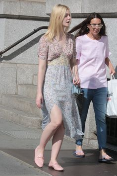 Elle Fanning - Out in NYC 9/1/17