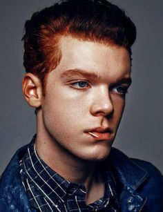 Cam Monaghan by Benjo Arwas Jerome Gotham, Youtubers, Red Hair Men, Ian And Mickey, Jerome Valeska, Cameron Monaghan, Film Inspiration, Attractive Men, Cute Hairstyles