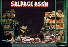Fred Herzog - Salvage Ass'n  Love beautiful photos - would love to have more of those on www.freestock.at