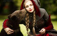 girl with animal11