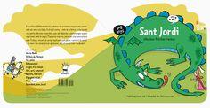 El Sant Jordi de la Monse Fransoy. Novetat d'aquest #SantJordi, #llibre editat per Publicacions de l'Abadia de Montserrat #PAMSA