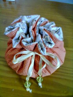 Tutorial - Porta bijuterias de tecido
