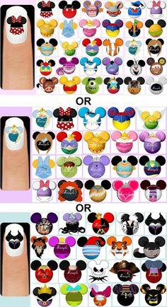 Disney nails: