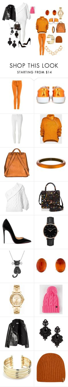 """""""Untitled #177"""" by edlstyle ❤ liked on Polyvore featuring Acne Studios, Dorothy Perkins, Marques'Almeida, Yves Saint Laurent, Alexis Bittar, Rosie Assoulin, Loeffler Randall, Christian Louboutin, Topshop and Amanda Rose Collection"""