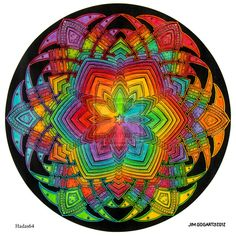 Mandala 40 - Collaboration by *Mandala-Jim on deviantART