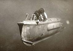 An Israeli mini-submarine in 1967
