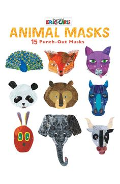 The World of Eric Carle™ Punch-Out Animal Mask Book