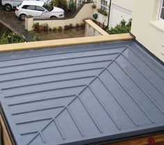 Grp roof with mopstick detail
