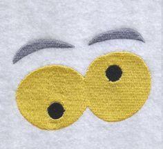 Free Embroidery Design: Halloween Eyes