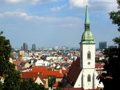 This post gives suggestions on things to do in Bratislava, the capital of Slovenia. From a gorgeous Old Town to a striking castle, I have your bases covered Stuff To Do, Things To Do, Bratislava Slovakia, Slovenia, Old Town, Countries, Castle, World, Building