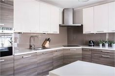 Dark, light, oak, maple, cherry cabinetry and wood kitchen cabinets for sale near me. CHECK THE PIN for Lots of Wood Kitchen Cabinets. Home Decor Kitchen, Kitchen Interior, New Kitchen, Home Kitchens, Kitchen Tiles, Kitchen Wood, Cherry Kitchen, Kitchen White, Cabnits Kitchen