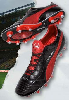 cf944663ced3f7 PUMA KING SL - BLACK   ROSSO   SILVER. The New Puma King SL football boots  ...