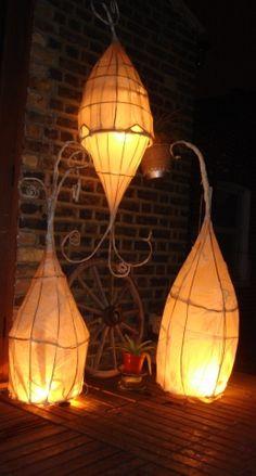 beautiful willow lanterns