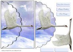 Blue Skies Envelope Card