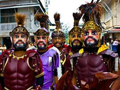 When talking about the best celebrations in the province of Marinduque in Philippines, we cannot deny that the Moriones Festival is one of the best. This is actually an annual celebration in the province and held during Holy Week. Moriones Festival, Holy Week, The Province, Event Calendar, Holi, Philippines, Tourism, Island, History