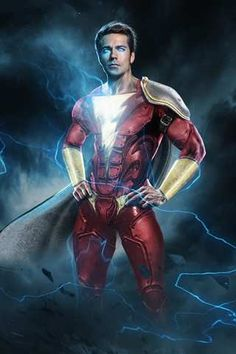 Shazam! Movie coming 2019. This isn't an actual poster from the movie, but it looks pretty cool!