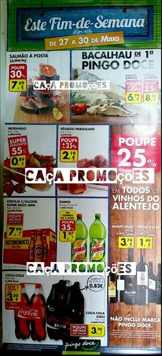 Promoções Pingo Doce - Folheto Fim de semana 27 a 30 maio - http://parapoupar.com/promocoes-pingo-doce-folheto-fim-de-semana-27-a-30-maio/