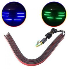 Auto Led Net Light Car Front Grill Auxiliary Lamp Warning Emergency Strobe Pop