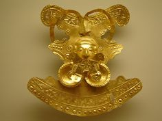 PINTURA Y- ARTE: febrero 2013 Pre-Columbian  gold,from Peru