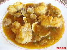 Rape en salsa Más Fish Recipes, Seafood Recipes, Cooking Recipes, Healthy Recipes, Best Dishes, Spanish Food, Keto Meal Plan, Savoury Dishes, Mediterranean Recipes