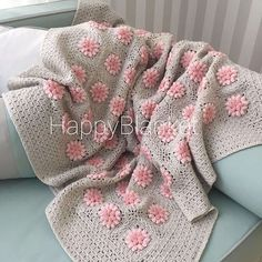 crochet design baby blanket / chrochet throw