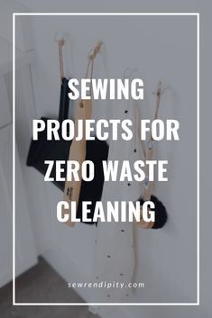 Want to use your sewing skills to reduce your waste? Here are some ideas on how to make house and personal cleaning products with a sewing machine that help reduce your waste. Sustainable Clothing, Sustainable Fashion, Plastic Mesh, Old Towels, Leftover Fabric, Cleaning Products, Zero Waste, Clean House, Cool Words