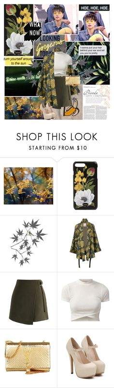"""""""it's blinding"""" by aliicia21 ❤ liked on Polyvore featuring Dolce&Gabbana, Brewster Home Fashions, Antonio Marras, Chicwish and Yves Saint Laurent"""