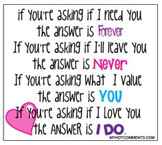quotes about love :) if your asking?