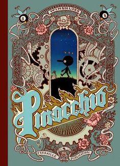 cover to Pinocchio by Winshluss, published Les Requins Marteaux/Ferraille