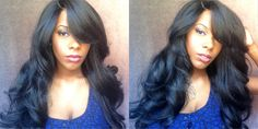 Outre Dominican Blowout Relaxed Lace Front Wig (Show & Tell) *Hair So Fly*