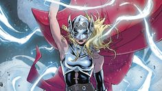 I am woman, hear me Thor!!!